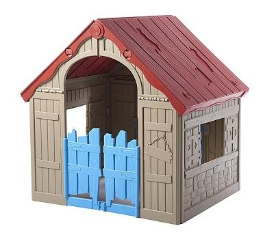 casa infantil plegable plastico
