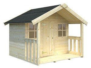 casita infantil de pino madera jardin